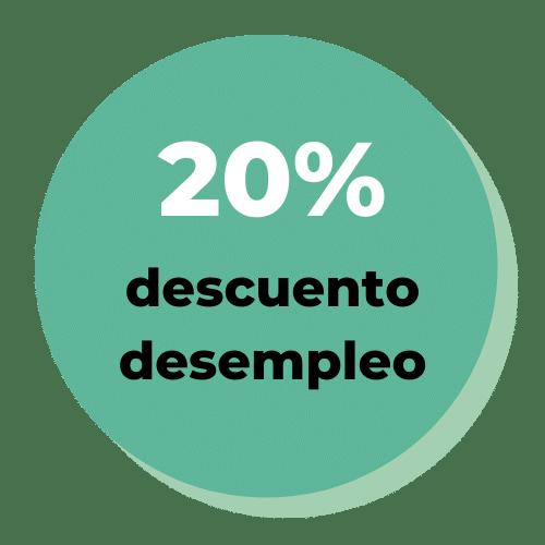 20% descuento desempleo - Logos - Innerkey Coaching