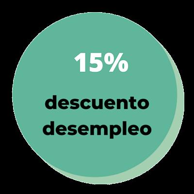 15% descuento desempleo - Logos - Innerkey Coaching